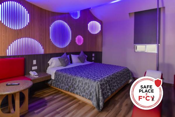 Habitación sanitizada con garantía Safe Place 2 F*ck